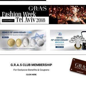 GRAS Israeli boutique silver jewelry in my closet